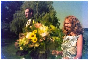 Die Freie Rednerin Annett Stelloh-Ganswindt auf einer Freien Trauung in Lübeck