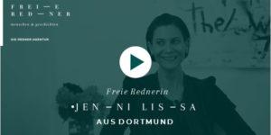 Freie Rednerin Jenni Lissa