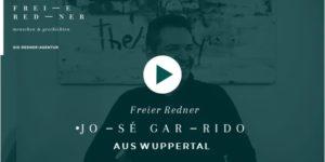 Freier Redner Jose Garrido