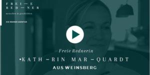Freie Rednerin kathrin Marquardt