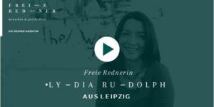 Freie Rednerin Lydia Rudolph