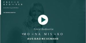 Freie Rednerin Mona Misko