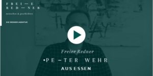Freier Redner Peter Wehr