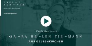 Freie Rednerin Sara Helen Tiemann