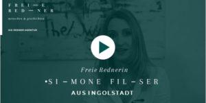 Freie Rednerin Simone FIlser