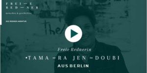 Freie Rednerin Tamara Jendoubi