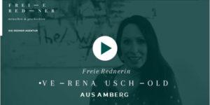Freie Rednerin Verena Uschold