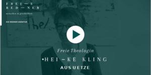Freie Rednerin und Freie Theologin Heike Kling