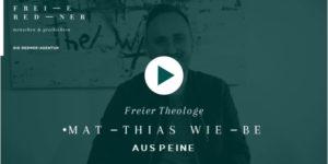 Freier Redner und Freier Theologe Matthias Wiebe