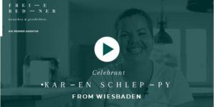 Freie Redner Karen Schleppy
