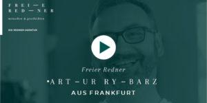 Freier Redner Artur Rybarz