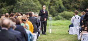 Der Freie Redner José Garrido auf einer Freien Trauung in Wuppertal