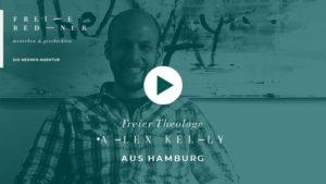 Der Freie Redner und Freie Theologe Alex Kelly auf einer Freien Trauung in Hamburg