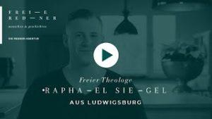 Freier Redner Raphael Siegel aus Ludwigsburg
