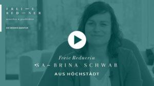 Video Freie Rednerin Trauernd Erin Sabrina Schwab Höchstädt