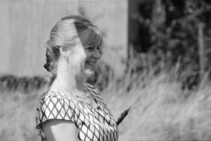 Die Freie Rednerin Heike Koch-Barth auf einer Freien Trauung in Bobenheim-Roxheim