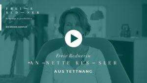 Freie Rednerin Annette Kessler stellt sich vor