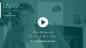 Freie Rednerin Liz Erbe aus Remscheid stellt sich vor