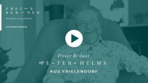 Der Freie Redner Peter Helms aus Frielendorf stellt sich vor